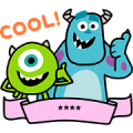 Monsters, Inc. Custom Stickers Sticker for LINE & WhatsApp | ZIP: GIF & PNG