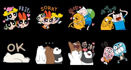 OTT Entertainment × Cartoon Network Line Sticker GIF & PNG Pack: Animated & Transparent No Background   WhatsApp Sticker