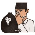 Ology & Gentleman: Custom Stickers Sticker for LINE & WhatsApp | ZIP: GIF & PNG