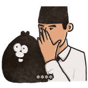 Ology & Gentleman: Custom Stickers Sticker for LINE & WhatsApp | ZIP: GIF & PNG