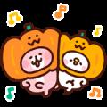 Piske & Usagi's Heartwarming Stickers Sticker for LINE & WhatsApp | ZIP: GIF & PNG