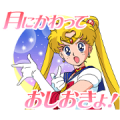 Pretty Guardian Sailor Moon (Animated) Sticker for LINE & WhatsApp | ZIP: GIF & PNG