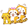 Rascal Overreaction Stickers Sticker for LINE & WhatsApp | ZIP: GIF & PNG