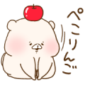 Shimacolle × Friend is a bear Sticker for LINE & WhatsApp | ZIP: GIF & PNG