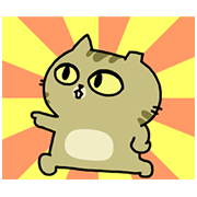 Sinko the Cat: All Cats Animated Sticker for LINE & WhatsApp | ZIP: GIF & PNG