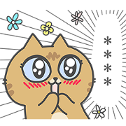 Sinko's Cats Custom Stickers Sticker for LINE & WhatsApp | ZIP: GIF & PNG