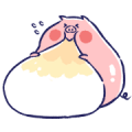 Tiny Piggy's Happy Days Sticker for LINE & WhatsApp | ZIP: GIF & PNG