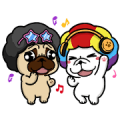 Vivid DOCA 7 Sticker for LINE & WhatsApp | ZIP: GIF & PNG