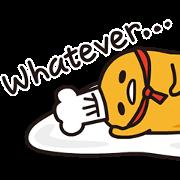 gudetama in Space Sticker for LINE & WhatsApp | ZIP: GIF & PNG