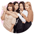 BLACKPINK Big Stickers Sticker for LINE & WhatsApp | ZIP: GIF & PNG