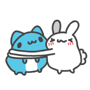 BugCat-Capoo: Very Bouncy Sticker for LINE & WhatsApp | ZIP: GIF & PNG