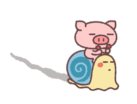 Butata Animated Stickers Sticker for LINE & WhatsApp | ZIP: GIF & PNG