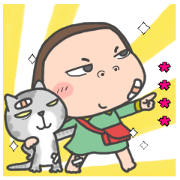 Cha Bao Mei Custom Stickers Sticker for LINE & WhatsApp | ZIP: GIF & PNG