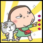 Cha Bao Mei Custom Stickers Sticker for LINE & WhatsApp | ZIP: GIF & PNG