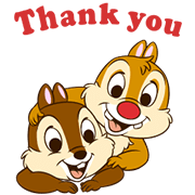 Chip 'n' Dale Animated Stickers Sticker for LINE & WhatsApp | ZIP: GIF & PNG
