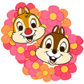 Chip 'n' Dale Pop-Up Stickers