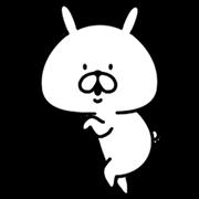 Chococo's Yuru Usagi (Animated) Sticker for LINE & WhatsApp   ZIP: GIF & PNG