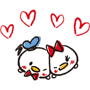 Disney Tsum Tsum (Sketch Style) Sticker for LINE & WhatsApp | ZIP: GIF & PNG