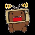Domo Kun Sticker for LINE & WhatsApp | ZIP: GIF & PNG