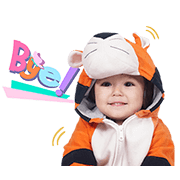 El Barrack: The Cute Toddler Sticker for LINE & WhatsApp | ZIP: GIF & PNG