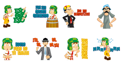 El CHAVO Line Sticker GIF & PNG Pack: Animated & Transparent No Background | WhatsApp Sticker