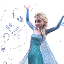 Frozen Animated Stickers Sticker for LINE & WhatsApp | ZIP: GIF & PNG