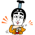 KEN SHIMURA Sticker for LINE & WhatsApp | ZIP: GIF & PNG