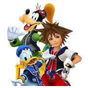 KINGDOM HEARTS Sticker for LINE & WhatsApp | ZIP: GIF & PNG