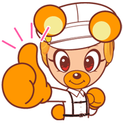 KODA KUMA Sticker for LINE & WhatsApp | ZIP: GIF & PNG