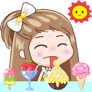 KaPom: Summer Sticker for LINE & WhatsApp | ZIP: GIF & PNG