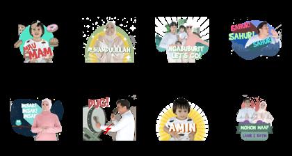 Keluarga Belo Line Sticker GIF & PNG Pack: Animated & Transparent No Background | WhatsApp Sticker