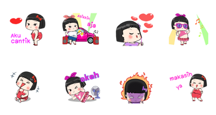 Khing Khing Animated Stickers 2 Line Sticker GIF & PNG Pack: Animated & Transparent No Background   WhatsApp Sticker
