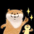 LINE NEWS × Cute lie otter