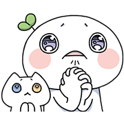 Lailai & Chichi 2 Sticker for LINE & WhatsApp | ZIP: GIF & PNG