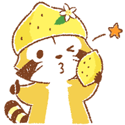 Lemon Rascal Daily Stickers Sticker for LINE & WhatsApp | ZIP: GIF & PNG