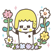 Lovely MORITA! Sticker for LINE & WhatsApp | ZIP: GIF & PNG