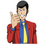 Lupin the 3rd Sticker for LINE & WhatsApp | ZIP: GIF & PNG
