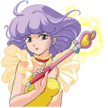 MAGICAL ANGEL CREAMY MAMI Sticker for LINE & WhatsApp | ZIP: GIF & PNG