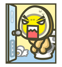 MILUEGG: Animated is tastier! Sticker for LINE & WhatsApp | ZIP: GIF & PNG