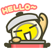 MILUEGG: Daily Life Sticker for LINE & WhatsApp | ZIP: GIF & PNG