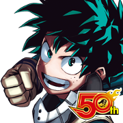 MY HERO ACADEMIA J50th Sticker for LINE & WhatsApp | ZIP: GIF & PNG