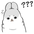Machiko Rabbit: Daily Feeling Sticker for LINE & WhatsApp | ZIP: GIF & PNG