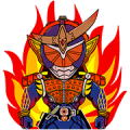 Masked Riders Assemble! Sticker for LINE & WhatsApp | ZIP: GIF & PNG