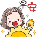 Megyo and Megab Animated Sticker for LINE & WhatsApp | ZIP: GIF & PNG