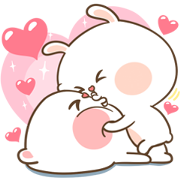 Mhee Noom & Tai Nim Pop-Ups Sticker for LINE & WhatsApp | ZIP: GIF & PNG