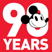 Mickey Mouse 90th Anniversary Sticker for LINE & WhatsApp | ZIP: GIF & PNG