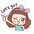 Miedie Dook Dik Sticker for LINE & WhatsApp | ZIP: GIF & PNG