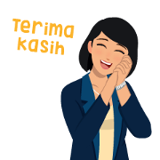Mita & Dika Animated Stickers Sticker for LINE & WhatsApp | ZIP: GIF & PNG