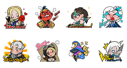 Mobile Legends: Bang Bang Line Sticker GIF & PNG Pack: Animated & Transparent No Background | WhatsApp Sticker
