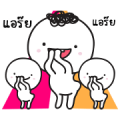 Moi and Meng 3: All Grown Up! Sticker for LINE & WhatsApp | ZIP: GIF & PNG